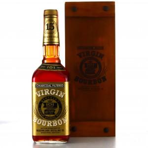 Virgin Bourbon 15 Year Old 101 Proof 1980s