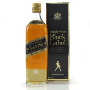 Johnnie Walker Black Label 1980s