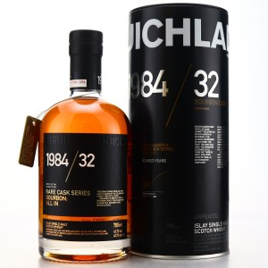 Bruichladdich 1984 Rare Cask Series 32 Year Old / All In
