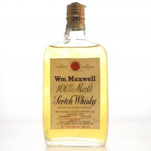 Wm. Maxwell 5 Year Old 100% Malt circa 1960s