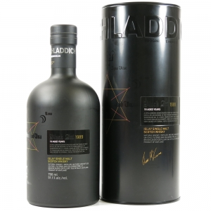 Bruichladdich Black Art 1989 19 Year Old 1st Edition Front
