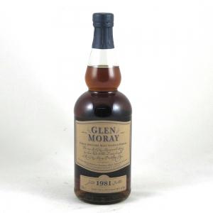Glen Moray 1981 Single Cask Manager's Choice Front