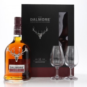 Dalmore 12 Year Old Gift Set With 2 x Branded Tasting Glasses