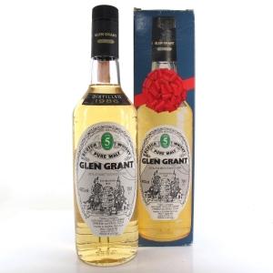 Glen Grant 1986 5 Year Old / Seagram Italia Import