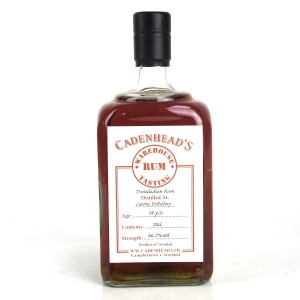Caroni 18 Year Old Cadenhead's Warehouse Tasting