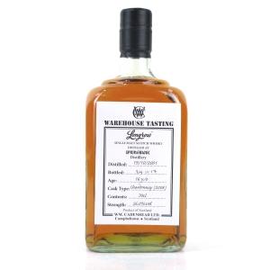 Longrow 2001 Warehouse Tasting 16 Year Old / Chardonnay Finish