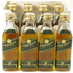 Johnnie Walker Green Label 15 Year Old 12 x 5cl