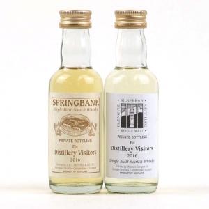 Springbank and Kilkerran Private Bottling 2016 / 2 x 5cl Miniature