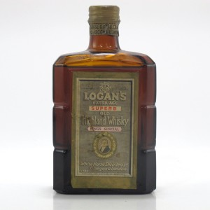 Logan's Extra Age King's Special Circa 1940s / White Horse Distillers