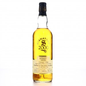 Macallan 1988 Signatory Vintage 11 Year Old / Millennium Edition