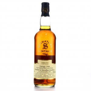 Macallan 1988 Signatory Vintage 12 Year Old 75cl / Park Avenue Liquor Shop