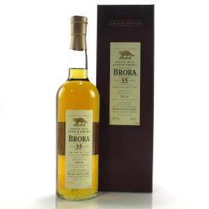 Brora 35 Year Old 2014 Release