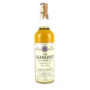 Glenlivet 34 Year Old Special Export Reserve / 150th Anniversary