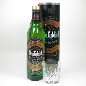 Glenfiddich Special Reserve Pure Malt with Crystal Glass