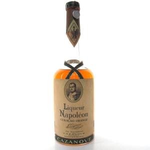 Cazanove Liqueur Napoleon Curacao 1950s