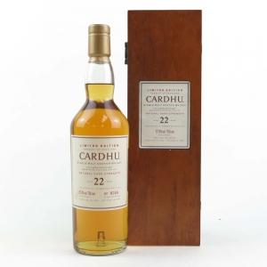 Cardhu 1982 22 Year Old Cask Strength