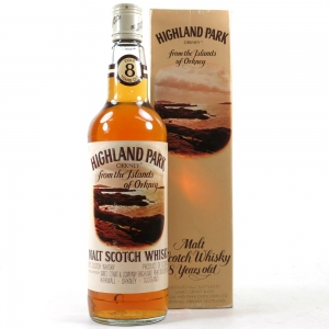 Highland Park 8 Year Old James Grant & Co 1970s 75cl