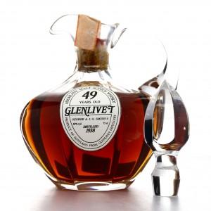 Glenlivet 1938 Sestante 49 Year Old Decanter