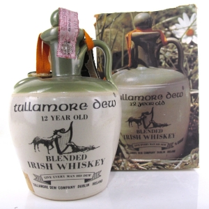 Tullamore 12 Year Old Dew Decanter 1952-1971