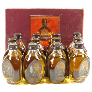 Dimple 12 Year Old Miniatures 12 x 5cl Front