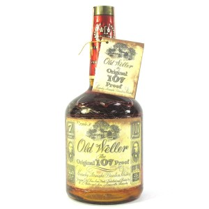 Old Weller Original 107 Proof 7 Year Old 1 Litre 1980s