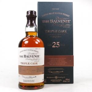 Balvenie 25 Year Old Triple Cask / Travel Retail Exclusive