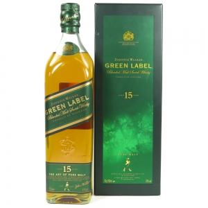 Johnnie Walker Green Label 15 Year Old Front