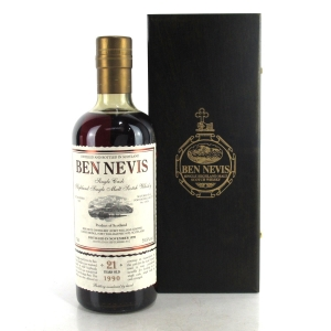 Ben Nevis 1990 Single Cask 21 Year Old / Port Butt