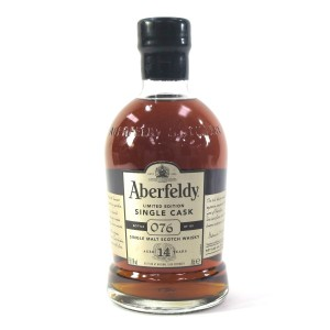 Aberfeldy 1997 Single Cask 14 Year Old #3618
