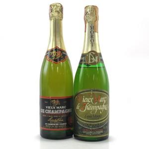 Vieux Marc de Champagne x 2