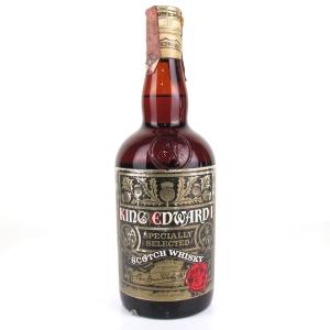 King Edward 1st Scotch Whisky 1970s