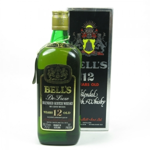 Bell's De Luxe 12 Year Old 1970s