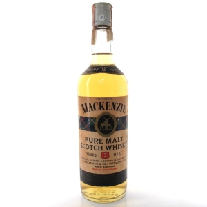 The Real MacKenzie 8 Year Old Scotch Whisky 1960s
