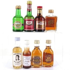 Whisky Liqueur Miniature Selection 8 x 5cl
