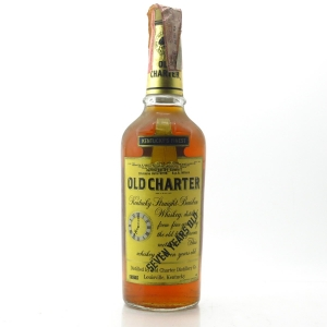Old Charter 7 Year Old Kentucky Straight Bourbon 1970s