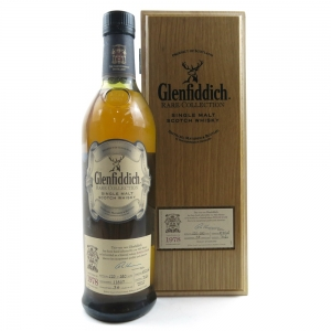 * Check Bottle No. Glenfiddich 1978 Rare Collection 34 Year Old