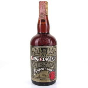 King Edward 1st Scotch Whisky 1970s / Martini & Rossi Import