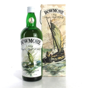 Bowmore 8 Year Old Sherriff's 1 Litre 1960s