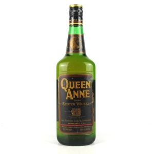 Queen Anne Rare Scotch 1970s