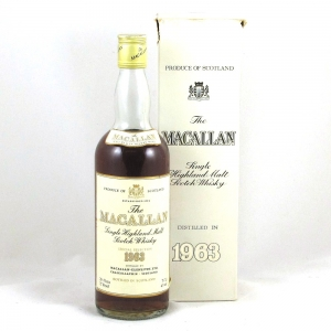 Macallan 1963 75.7cl (26 2/3rd fl oz) Front