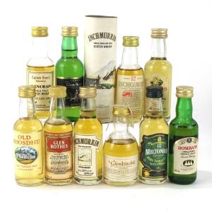 Miscellaneous Malt Whisky Miniature Selection x 10