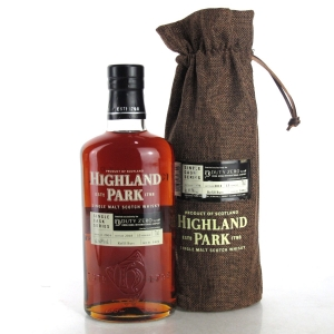 Highland Park 2004 Single Cask 13 Year Old #5424 / Duty Zero
