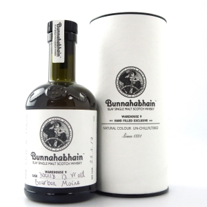 Bunnahabhain 13 Year Old Hand Filled 20cl / Bourbon Moine