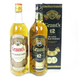 Grant's 1980s 2x 75cl