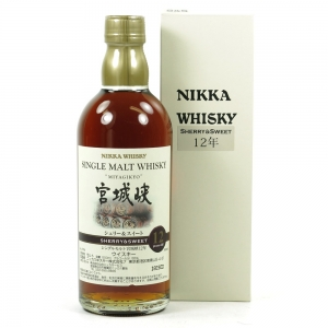 Miyagikyo 12 Year Old Sherry and Sweet 50cl