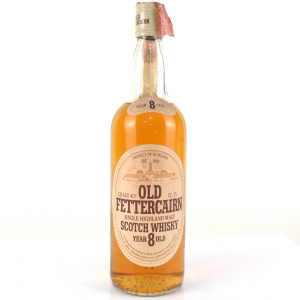 Old Fettercairn 8 Year Old 1980s