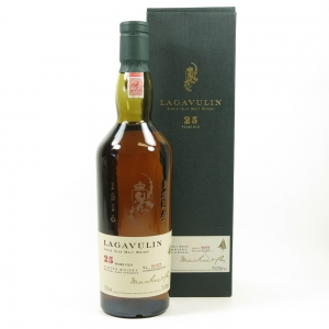 Lagavulin 25 Year Old 2002 Release Front