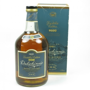 Dalwhinnie 1981 Distillers Edition 1 Litre