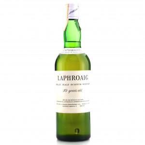 Laphroaig 10 Year Old 1970s / Bonfanti Import