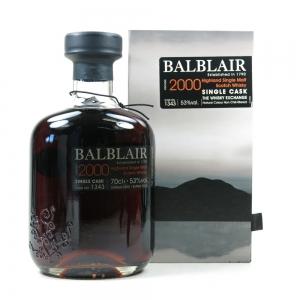 Balblair 2000 Single Cask #1343